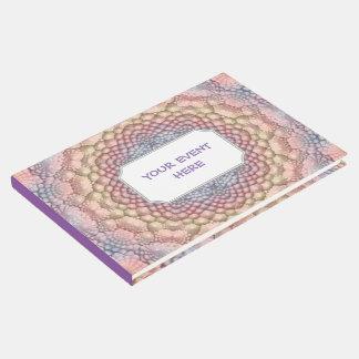 Pastels Vintage Kaleidoscope  Guestbook