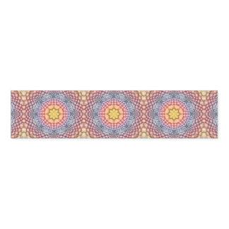 Pastels Vintage Kaleidoscope  Napkin Band