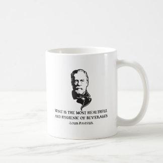 Pasteur - Wine Coffee Mug
