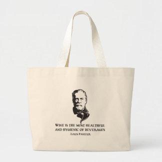 Pasteur - Wine Tote Bag