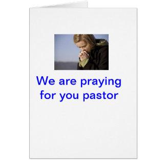 pastor appreciation greeting card