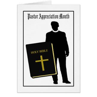Pastor Appreciation Month Card