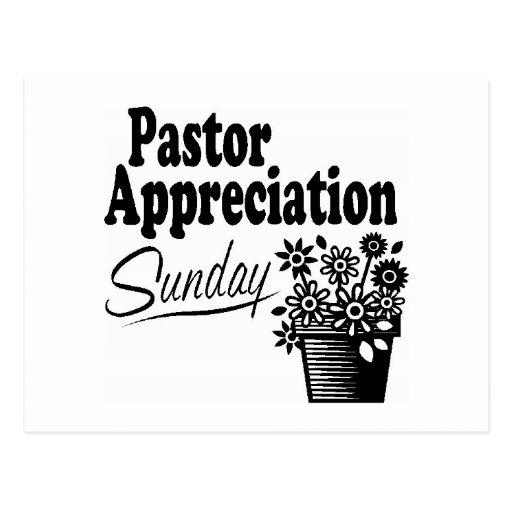 pastor appreciation post card