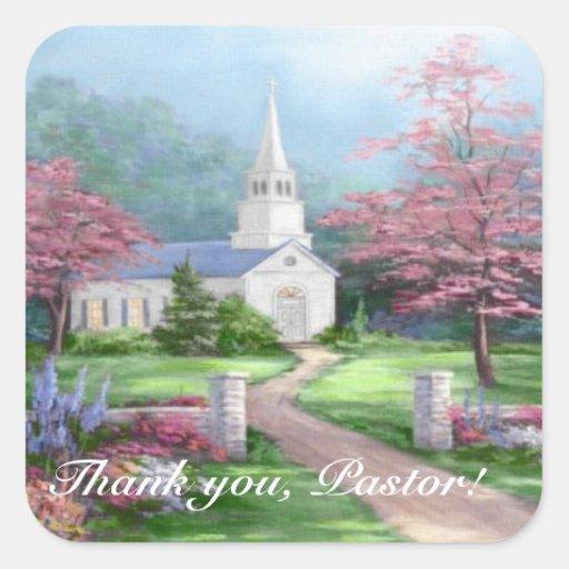 Pastor Appreciation Stickers
