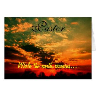 Pastor Card