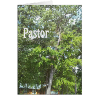 Pastor Card