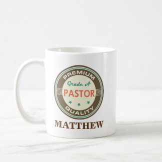 pastor Personalized Office Mug Gift
