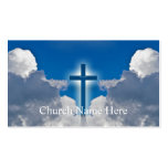 Pastoral Information Cards Business Card Templates