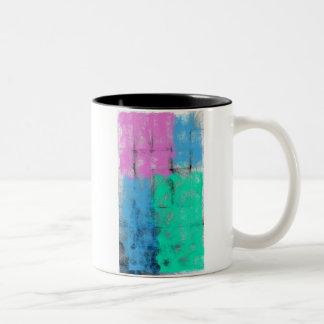 Pastoral Pastel Minimalism Two-Tone Mug