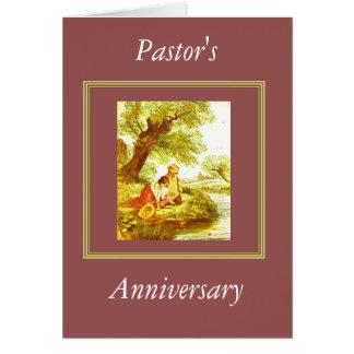 Pastor's Anniversary Greeting Card