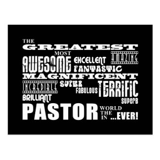 Pastors : Greatest Pastor Postcards
