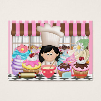 Pastry Chef / Cupcake / Catering Business Card - S