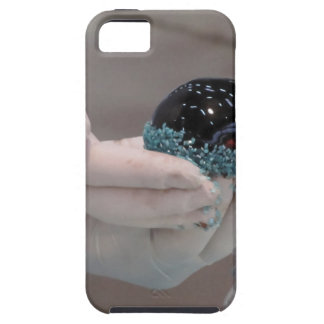 Pastry chef decorating a glazed chocolate cake iPhone 5 case