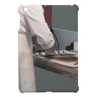 Pastry chef in the kitchen iPad mini covers