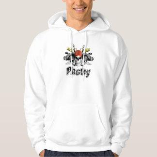 Pastry Chef: Skull and Cooking Utensils Sweatshirt