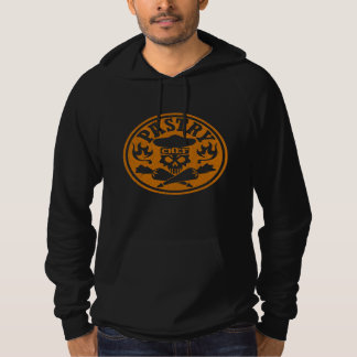 Pastry Chef Skull and Crossed Pastry Bags Hoody