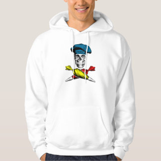Pastry Chef Skull Hooded Sweatshirts