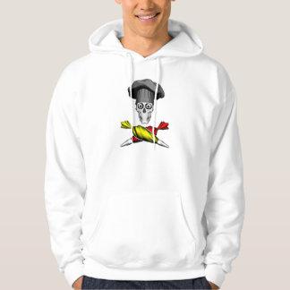 Pastry Chef Skull Sweatshirts