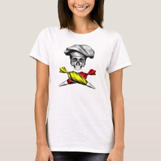Pastry Chef Skull T-Shirt