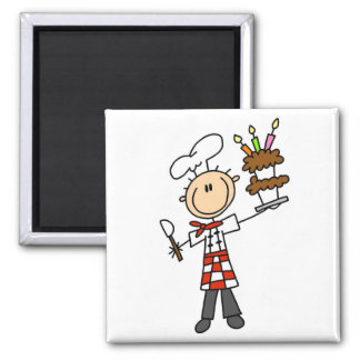 Pastry Chef Tshirts and Gifts Magnet