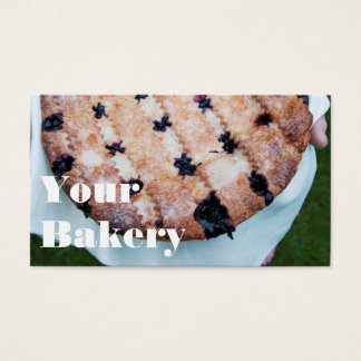 Pastry Dessert Baking Business Marketing Business Card