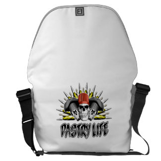 Pastry Life Messenger Bags