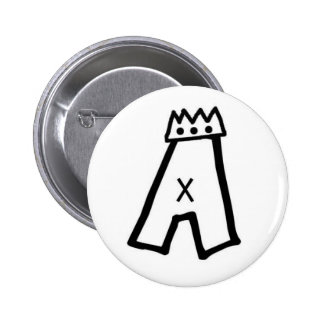 Pat Aldrich A-crown pin