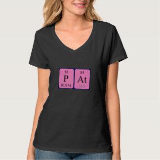 Pat periodic table name shirt