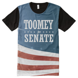 Pat Toomey 2016 All-Over Print T-Shirt