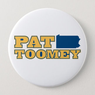 Pat Toomey for Pennsylvania 10 Cm Round Badge