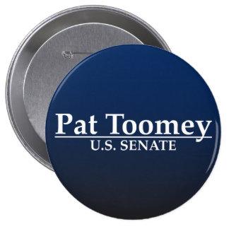 Pat Toomey U.S. Senate 10 Cm Round Badge