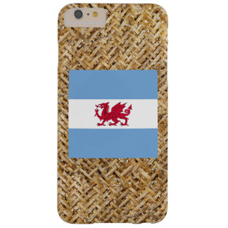 Patagonia Flag on Textile themed Barely There iPhone 6 Plus Case