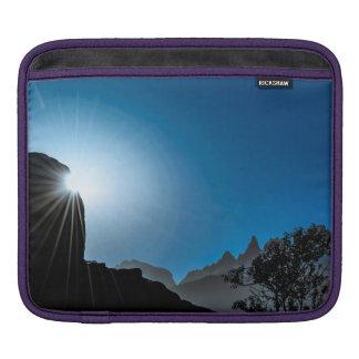 Patagonia Landscape Scene, Aysen, Chile iPad Sleeve