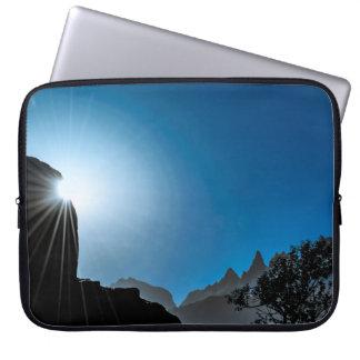 Patagonia Landscape Scene, Aysen, Chile Laptop Sleeve