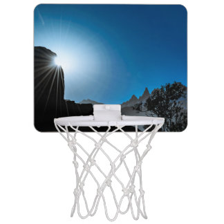 Patagonia Landscape Scene, Aysen, Chile Mini Basketball Hoop