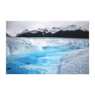 Patagonia Perito Moreno Glacier 36X23 Canvas Print