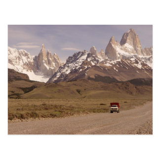 Patagonia, way to El Chaltén Postcard