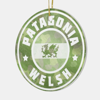 Patagonia Welsh Camo Flag Decoration