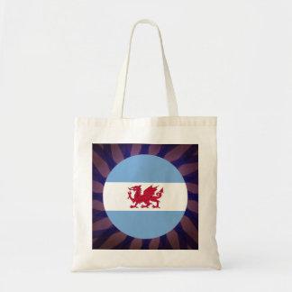 Patagonian Flag Souvenir Budget Tote Bag