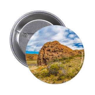 Patagonian Landscape, Argentina 6 Cm Round Badge