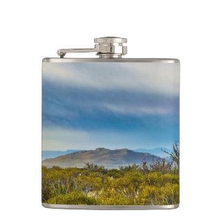 Patagonian Landscape Scene, Santa Cruz, Argentina Hip Flask