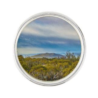Patagonian Landscape Scene, Santa Cruz, Argentina Lapel Pin