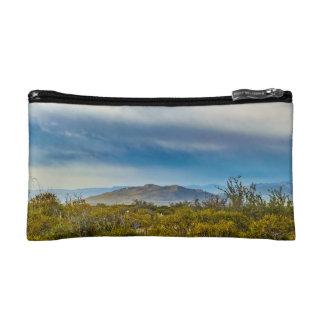 Patagonian Landscape Scene, Santa Cruz, Argentina Makeup Bags