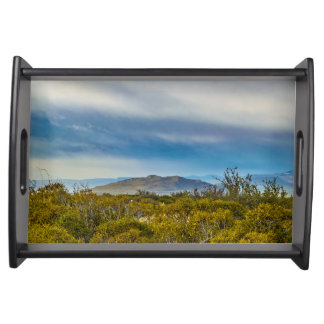 Patagonian Landscape Scene, Santa Cruz, Argentina Serving Tray
