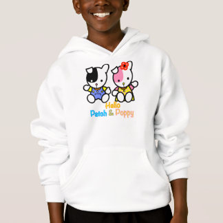 Patch and Poppy Hanes Hoodie.