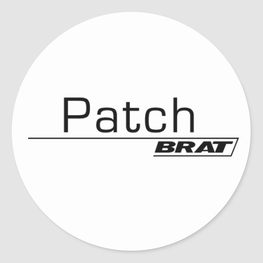 Patch Brat A001 Stickers