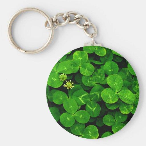 Patch O' Clover Keychain