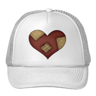 Patched Country Heart Cap