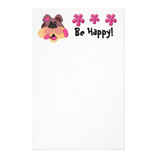 Patches Bear Stationary Customized Stationery