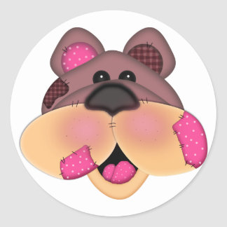 Patches Bear Stickers
